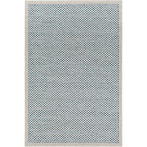 Grace Gray and Blue Rectangular: 5 Ft. x 7 Ft. 6 In. Rug