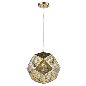 Uptown Rose Gold 10-Inch One-Light Pendant