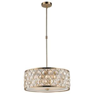 Vivian Champagne Five-Light Pendant