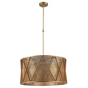 Fulton Matte Gold Six-Light Pendant