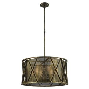 Fulton Antique Bronze Six-Light Pendant