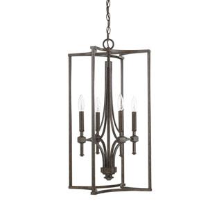 Evelyn Bronze Four-Light Pendant