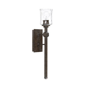Evelyn Bronze One-Light Wall Sconce
