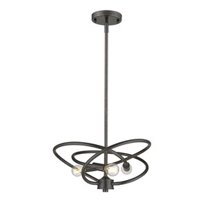 Nicollet Bronze Three-Light Pendant