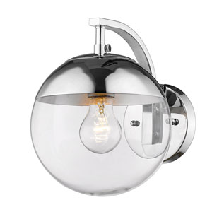 Nicollet Chrome One-Light Bath Sconce