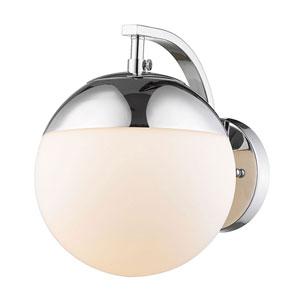 Nicollet Chrome One-Light Bath Sconce