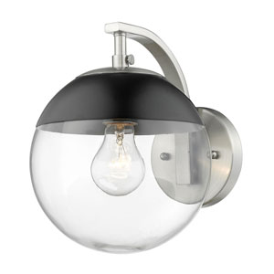 Nicollet Pewter One-Light Bath Sconce