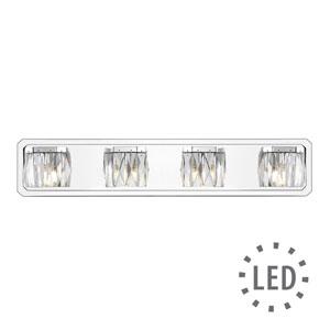 Cooper Chrome Four-Light LED Bath Vanity
