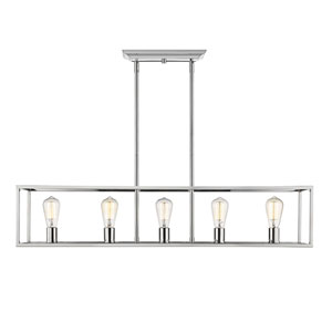 Uptown Chrome Five-Light Pendant