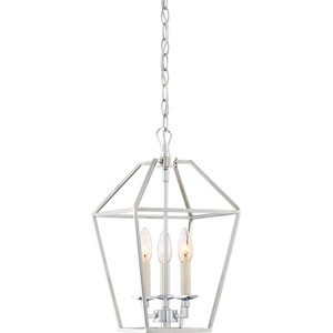 Kenwood Polished Nickel Three-Light Mini Pendant