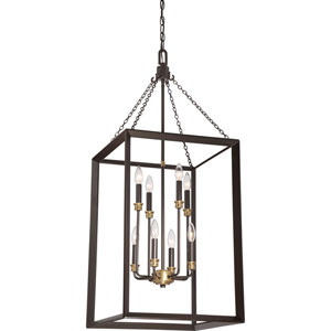 Aster Bronze Eight-Light Pendant