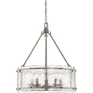 Nicollet Silver Five-Light Pendant