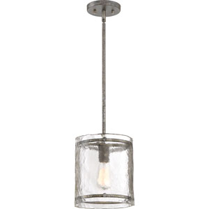 Nicollet Silver One-Light Mini Pendant