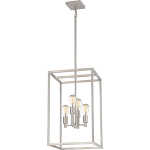 Nicollet Brushed Nickel Four-Light Pendant