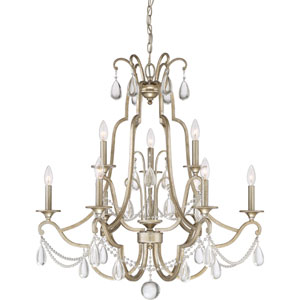 Wellington Gold Nine-Light Chandelier