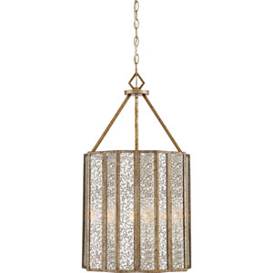 Cooper Gold Four-Light Pendant
