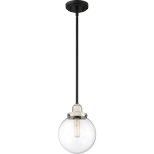 Nicollet Black One-Light Mini Pendant
