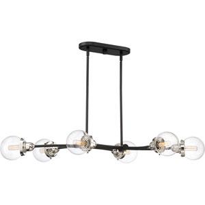 Nicollet Black Six-Light Pendant