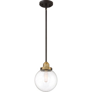 Nicollet Bronze One-Light Mini Pendant