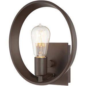 Afton Bronze 10-Inch One-Light Wall Sconce