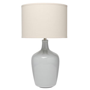 Selby Dove Grey Ceramic One-Light Table Lamp
