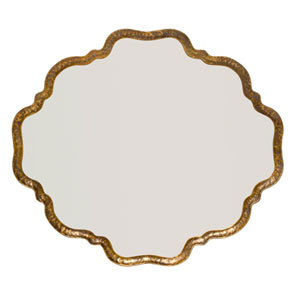 Isles Antique Gold Mirror