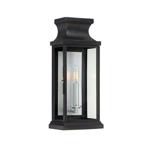 Whittier Black One-Light Wall Sconce