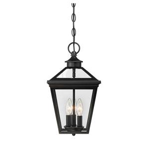 Kenwood Black Three-Light Outdoor Pendant