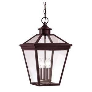 Kenwood Bronze Four-Light Outdoor Pendant