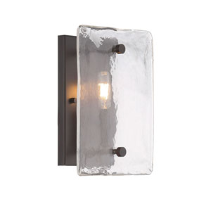 River Station Bronze One-Light Wall Sconce