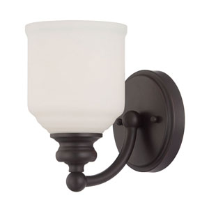 Evelyn Bronze Five-Inch One-Light Wall Sconce