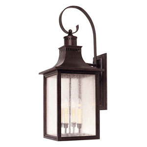 Kenwood Bronze Four-Light Outdoor Wall Sconce