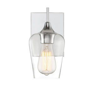 Selby Polished Chrome One-Light Wall Sconce