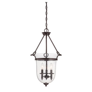 Evelyn Bronze Three-Light Pendant