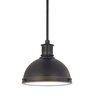 Afton Bronze 10-Inch LED Mini Pendant