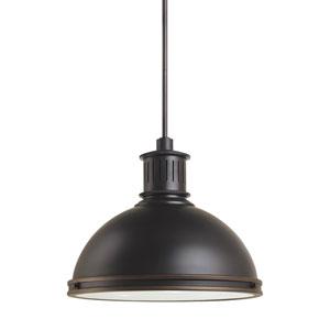 Afton Bronze 16-Inch LED Pendant