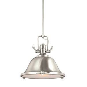 Afton Brushed Nickel LED Energy Star Pendant