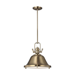 Afton Satin Bronze Two-Light Pendant