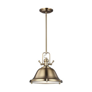 Afton Satin Bronze Three-Light Pendant