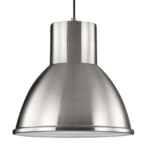 Uptown Brushed Nickel One-Light Pendant