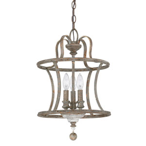 Grace Antique Three-Light Pendant