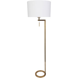 Loring Gold One-Light Floor Lamp