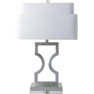 Vivian Silver One-Light Table Lamp