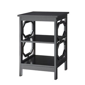 Selby Black End Table