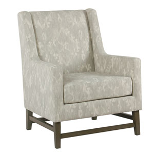 Grace Patina Gray Accent Chaire