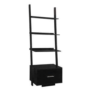 Nicollet Black Ladder Bookshelf