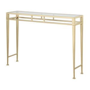 Monroe Gold Console Table