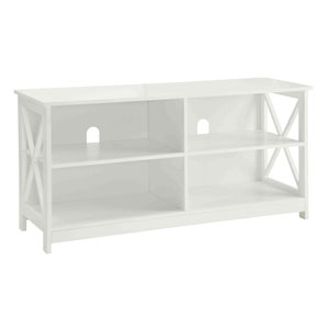 Selby White 48-inch TV Stand