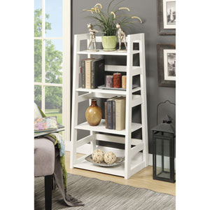 Selby White Bookcase