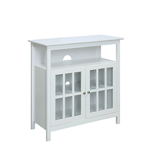 Selby White 36-inch TV Stand